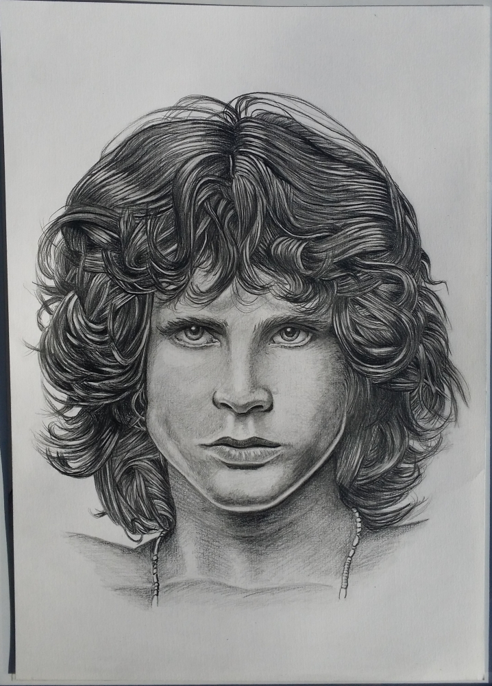 Jim Morrison by jeffcw